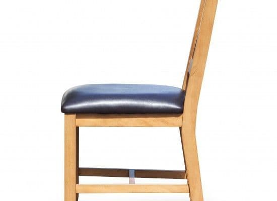 Beaune Solid Pine Dining Chairs (Pair) 17LD317